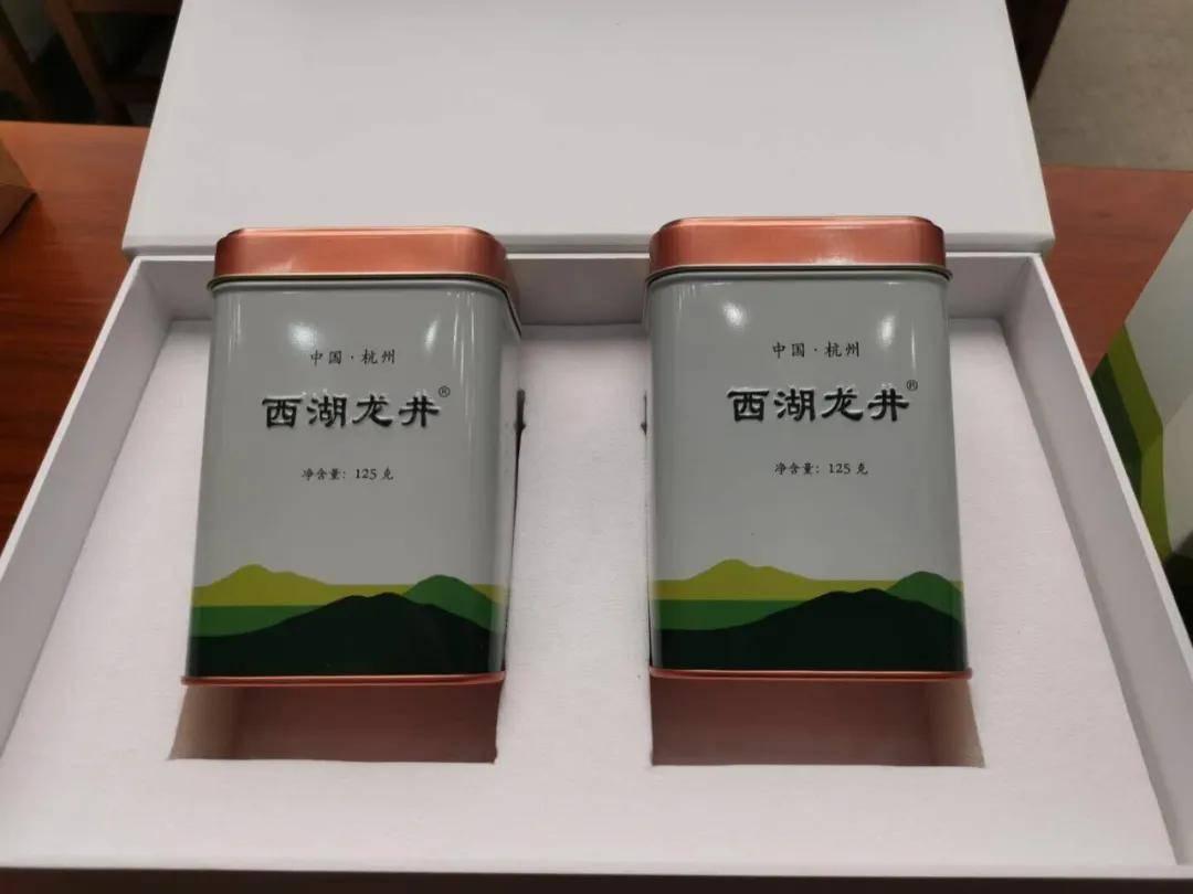 西湖龙井统一包装公布,与产地证明标识配套使
