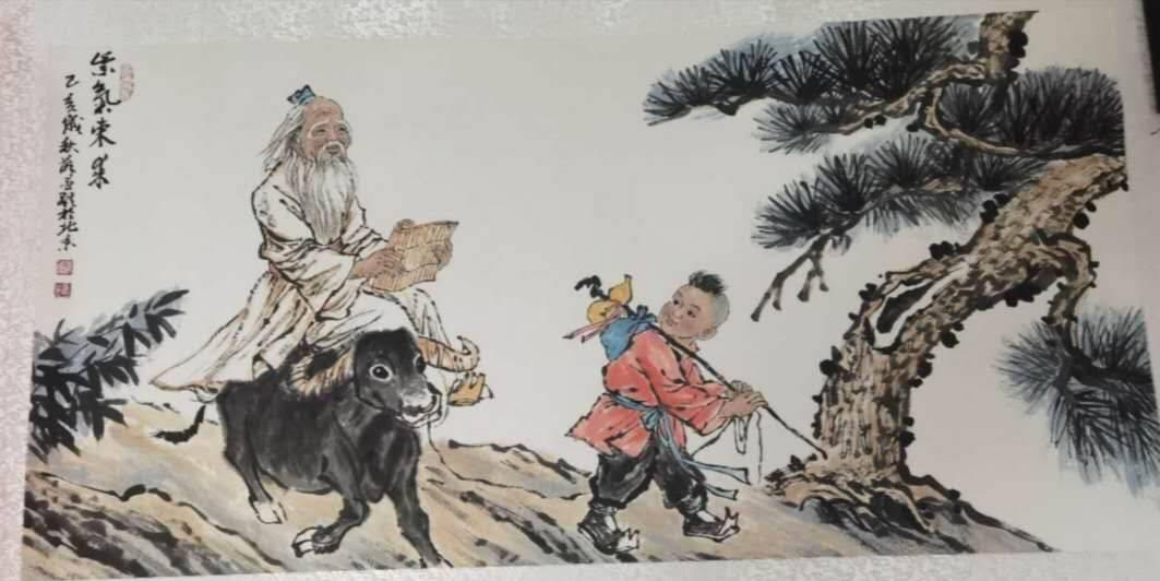 古雅轩文化传媒推荐薛丕显的紫气东来画作赏析