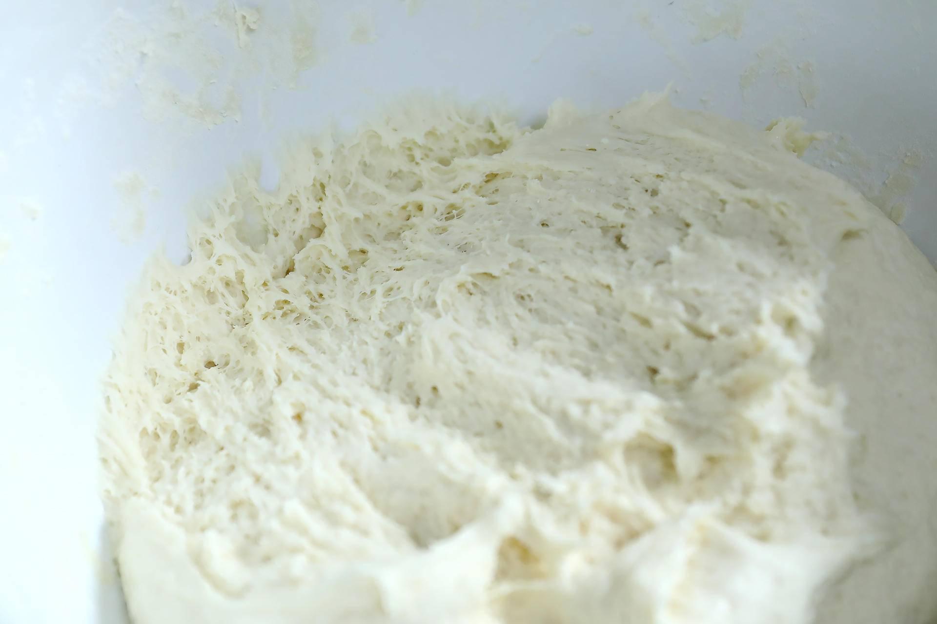 面团发酵动漫图片