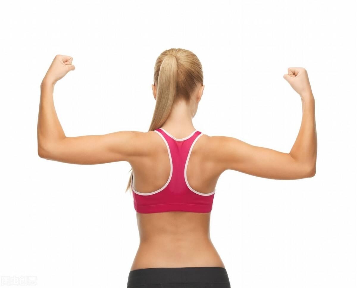 一组手臂塑形动作,帮你减掉拜拜肉,秀出细长的天鹅臂!