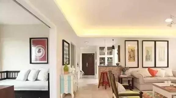 12万搞定优雅美式四居室硬装,大户型这样装,收纳功能超强!