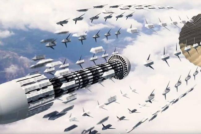 """原创   科幻时代来临:中电科""""蜂群""""系统亮相,中国才是无人机高端玩家    第2张"""