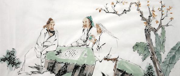 康熙和警卫下了国际象棋。几天后,他得知警卫