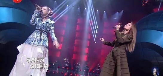 """希林和容祖儿唱歌""""母系社会"""",摇滚之魂被点"""