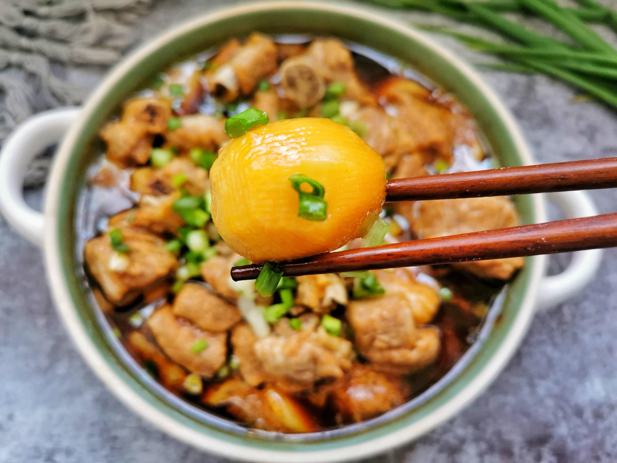 红烧芋艿图片