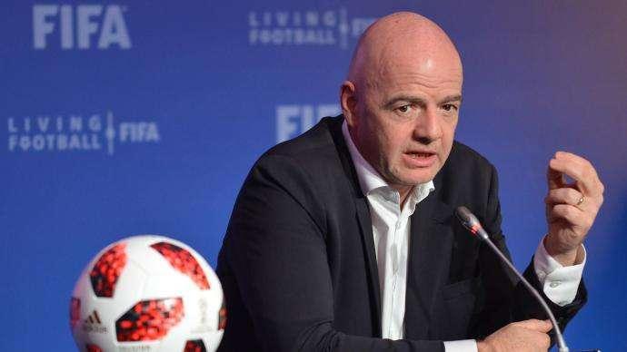 官方:FIFA主席因凡蒂诺感染新冠 目前症状轻微