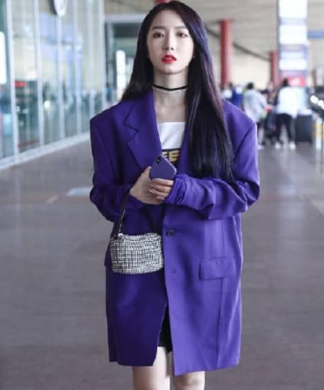 紫色风衣搭配_紫色风衣搭配图片大全