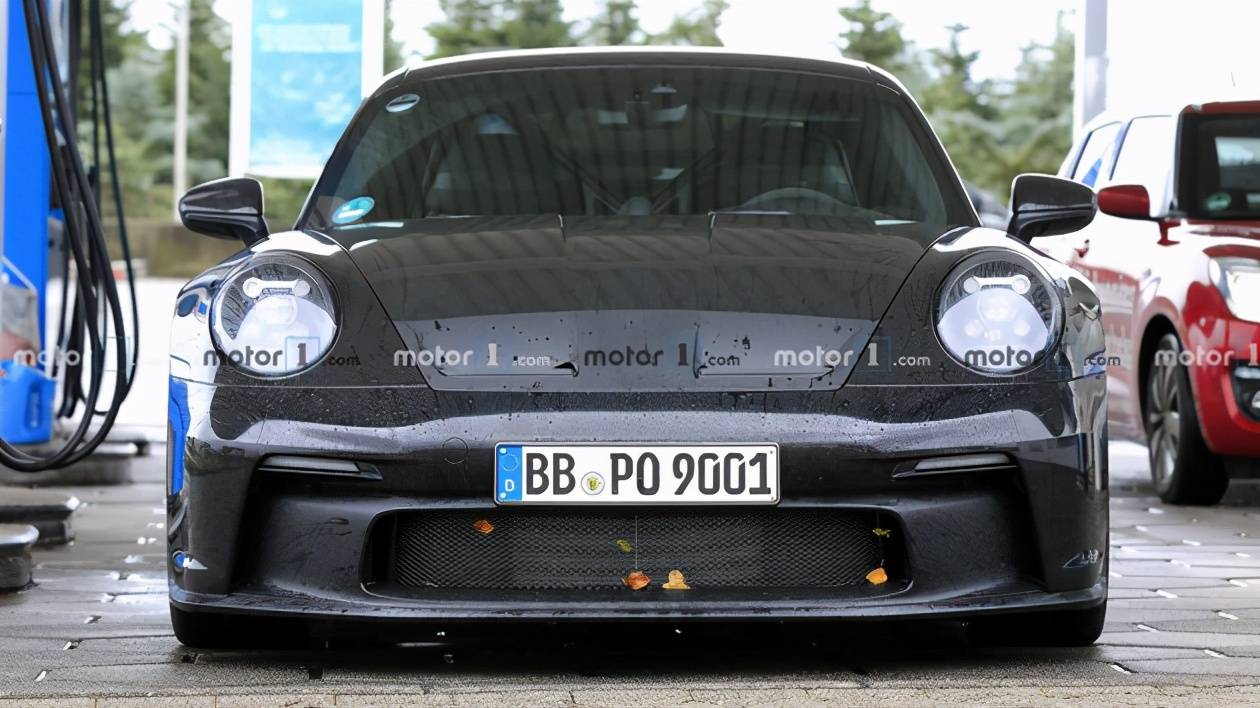 保时捷911 GT3最新间谍照片曝光