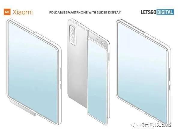 苹果,小米在折叠屏手机上曝光新专利,TCL展示卷轴式屏幕手机