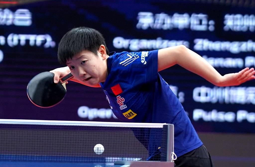 孙颖莎:落后时不放弃最关键 再战陈梦要享受比赛
