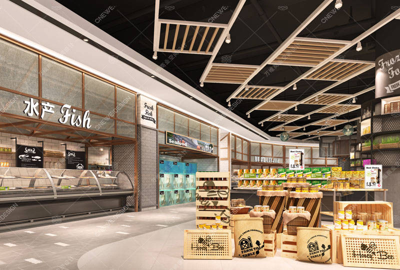超市设计与布局