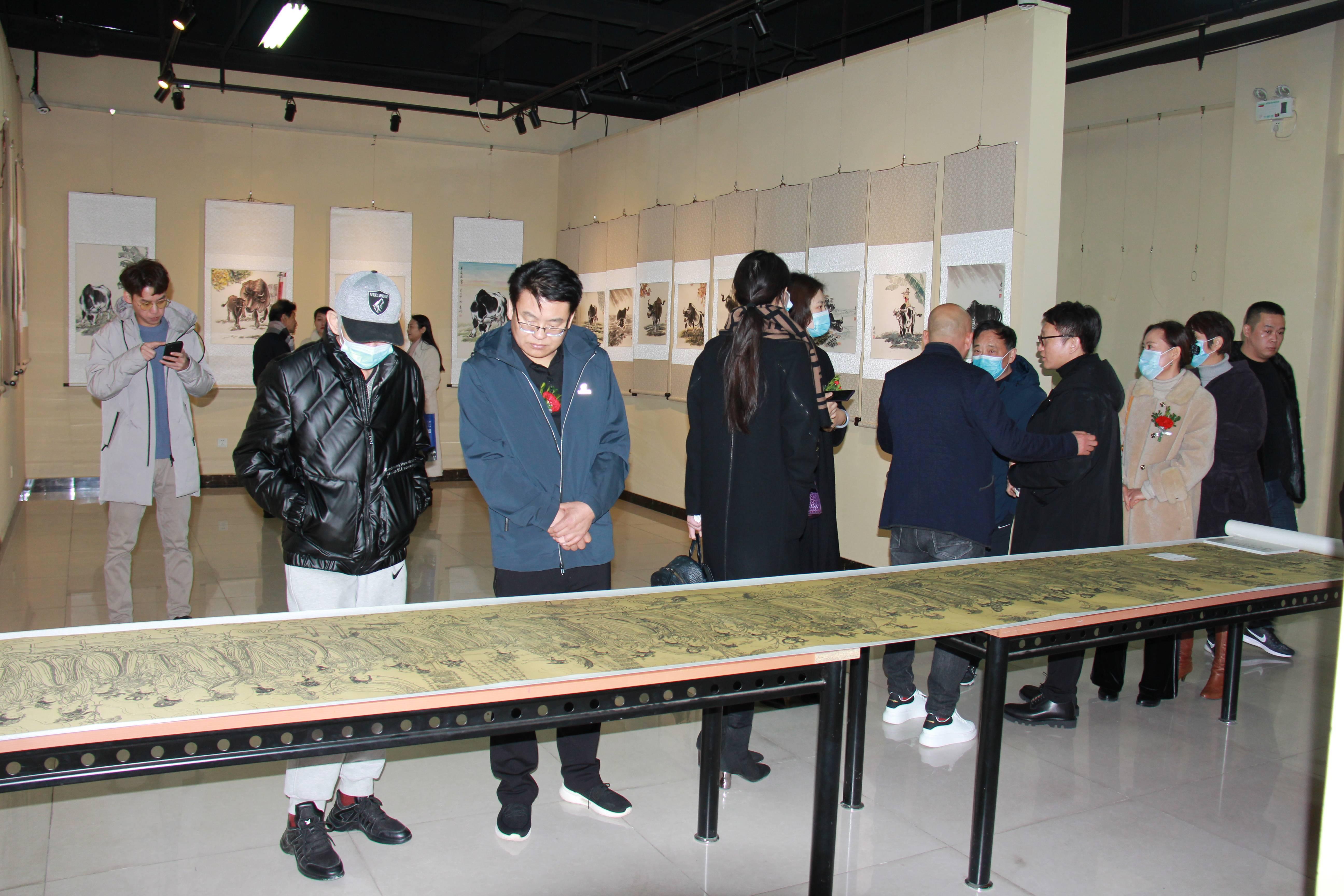杨庆林艺术作品展在北京徐悲鸿文化艺术交流中心开幕