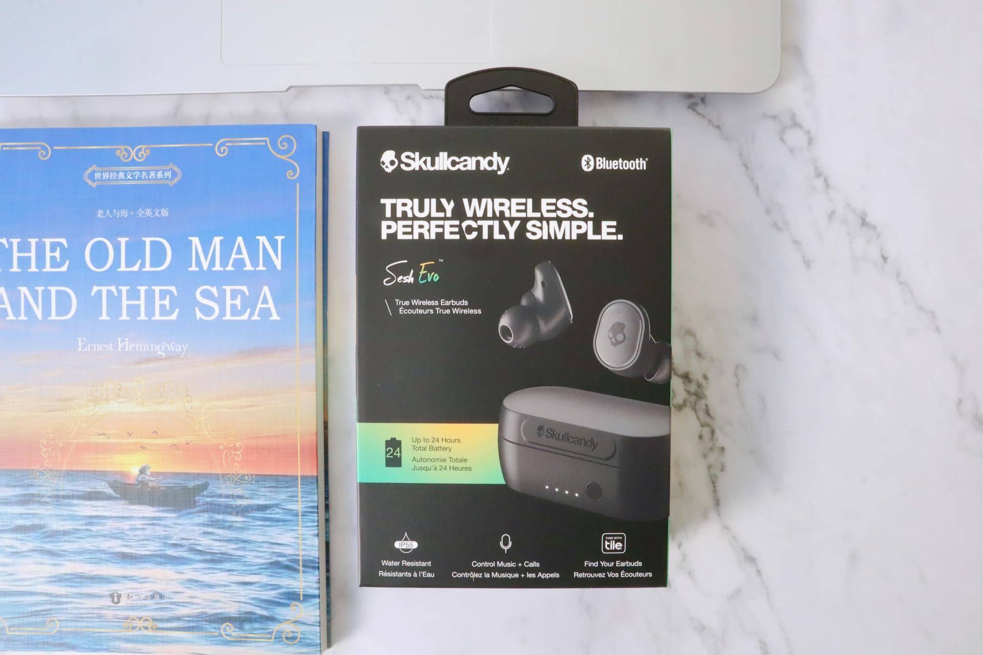 真无线耳机Skullcandy Sesh EVO 小魔豆二代评测
