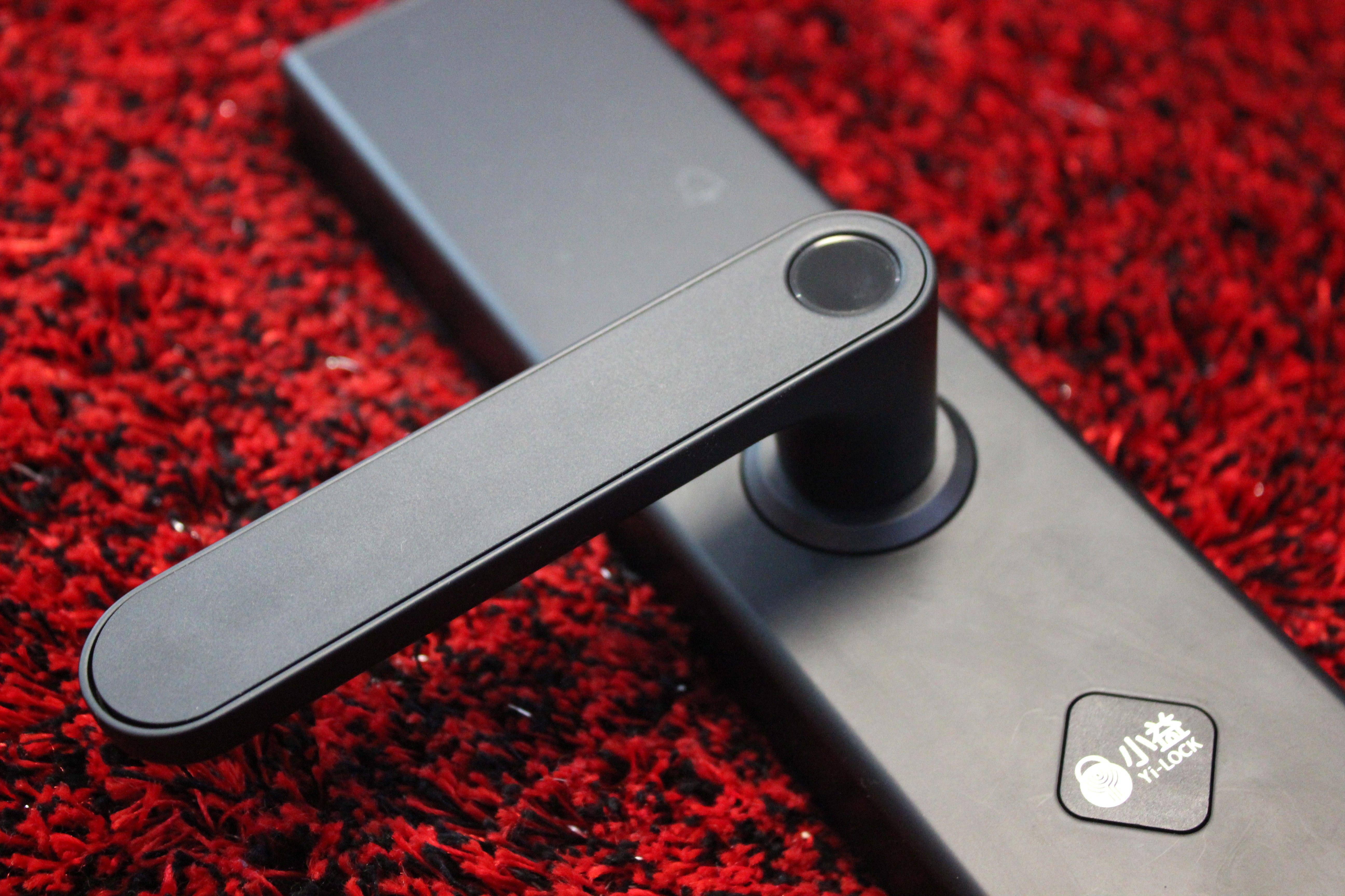 小益E205T指纹锁,E205全新升级款,让家更安全开门更便捷