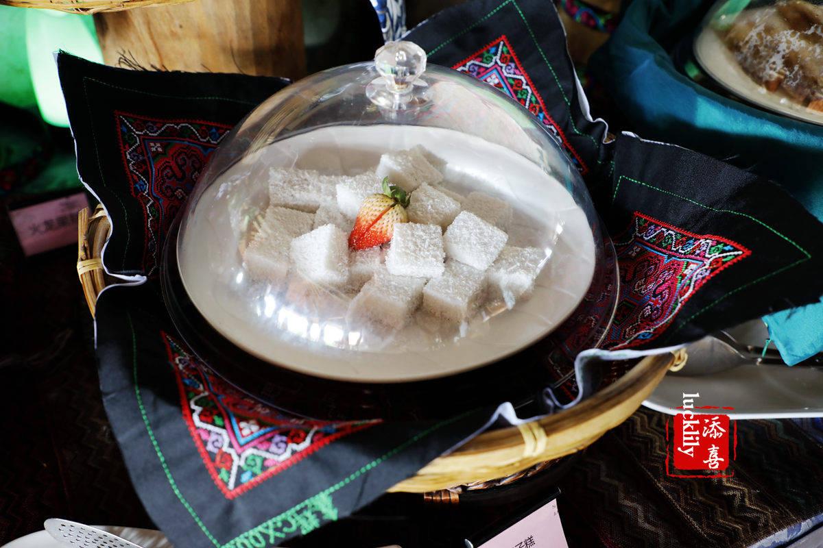原创             景区椰汁饭30元,海控·君澜三亚湾迎宾馆几十元自助下午茶可以畅吃海南古早味