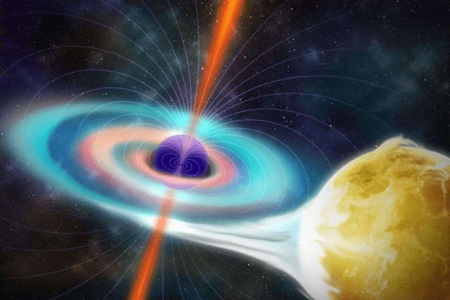 我国科学家发现双黑洞同食恒星现象,可从中研究巨型黑洞成长机制