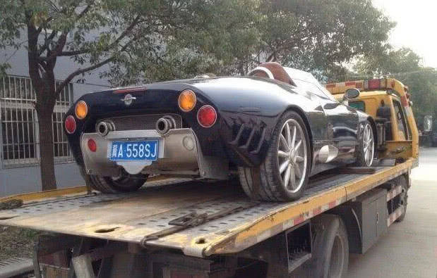 原厂有一辆500W的跑车,很吸引人,但是没人知道!