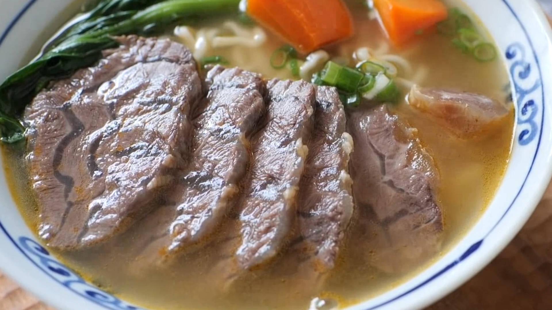 学会这碗牛肉面,再也不用去面馆了,烂熟入味让人垂涎欲滴