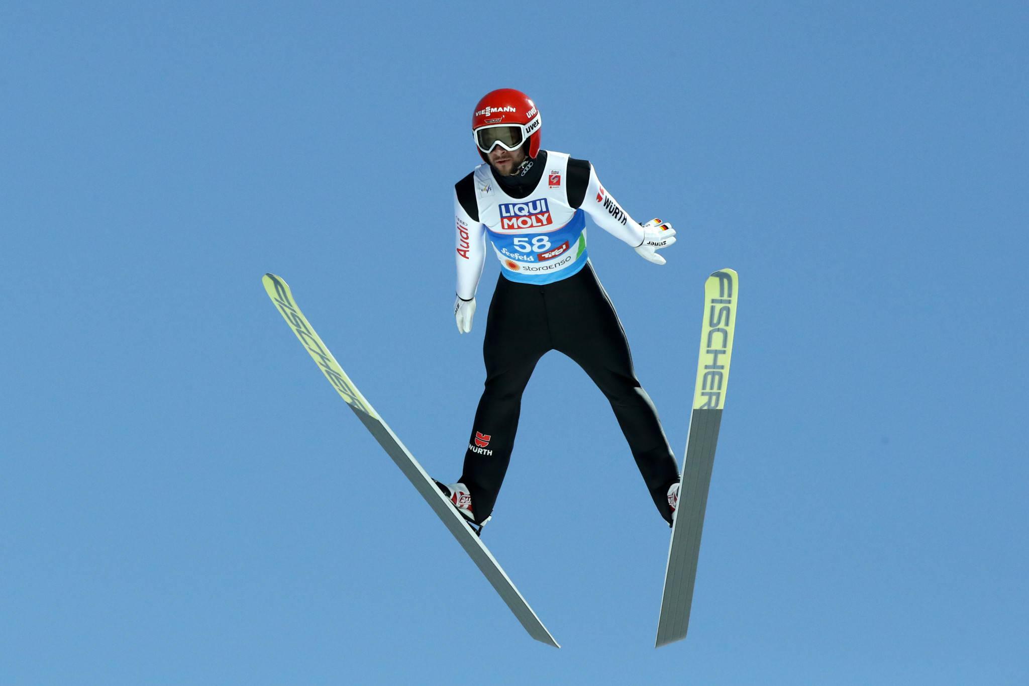 跳台滑雪世界杯:两人因服装取消成绩 德国名将领跑