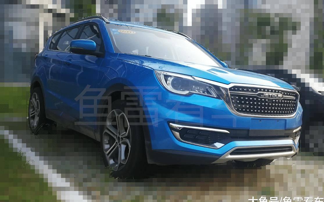 原轴距加长,预计搭载1.6TGDI,首次曝光奇瑞捷途新SUV平台数据采集车