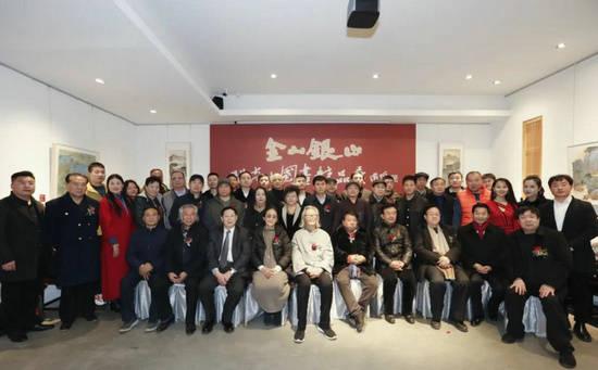 """""""金山银山――关奇中国画精品展""""在北京隆重举行"""