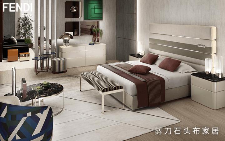 玩转跨界设计,进口芬迪家具,豪宅中的家居奢品!