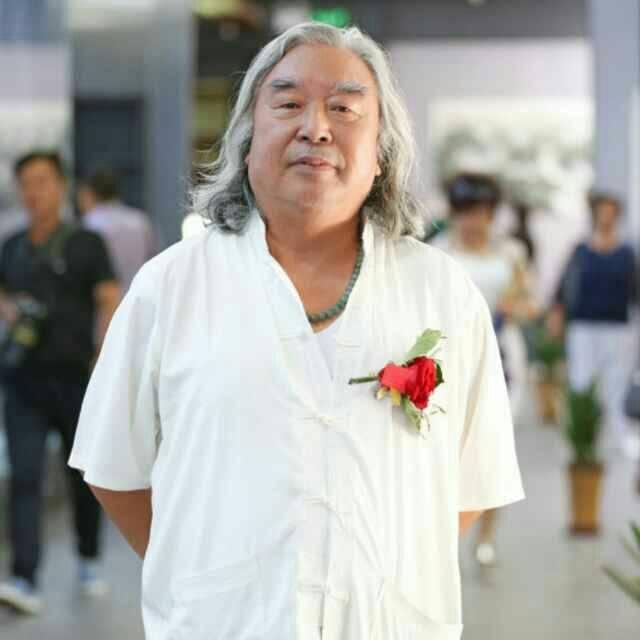 中国著名书画家左笔王——王铁男