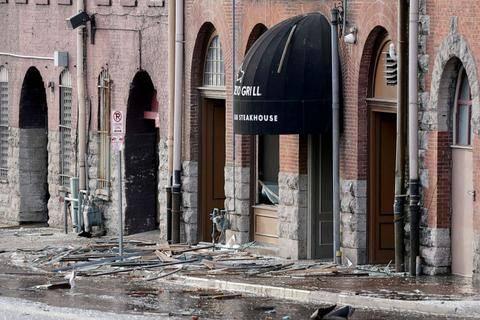 美军基地遭遇火灾,办公大楼爆炸,市中心也爆炸,谁在发动袭击?