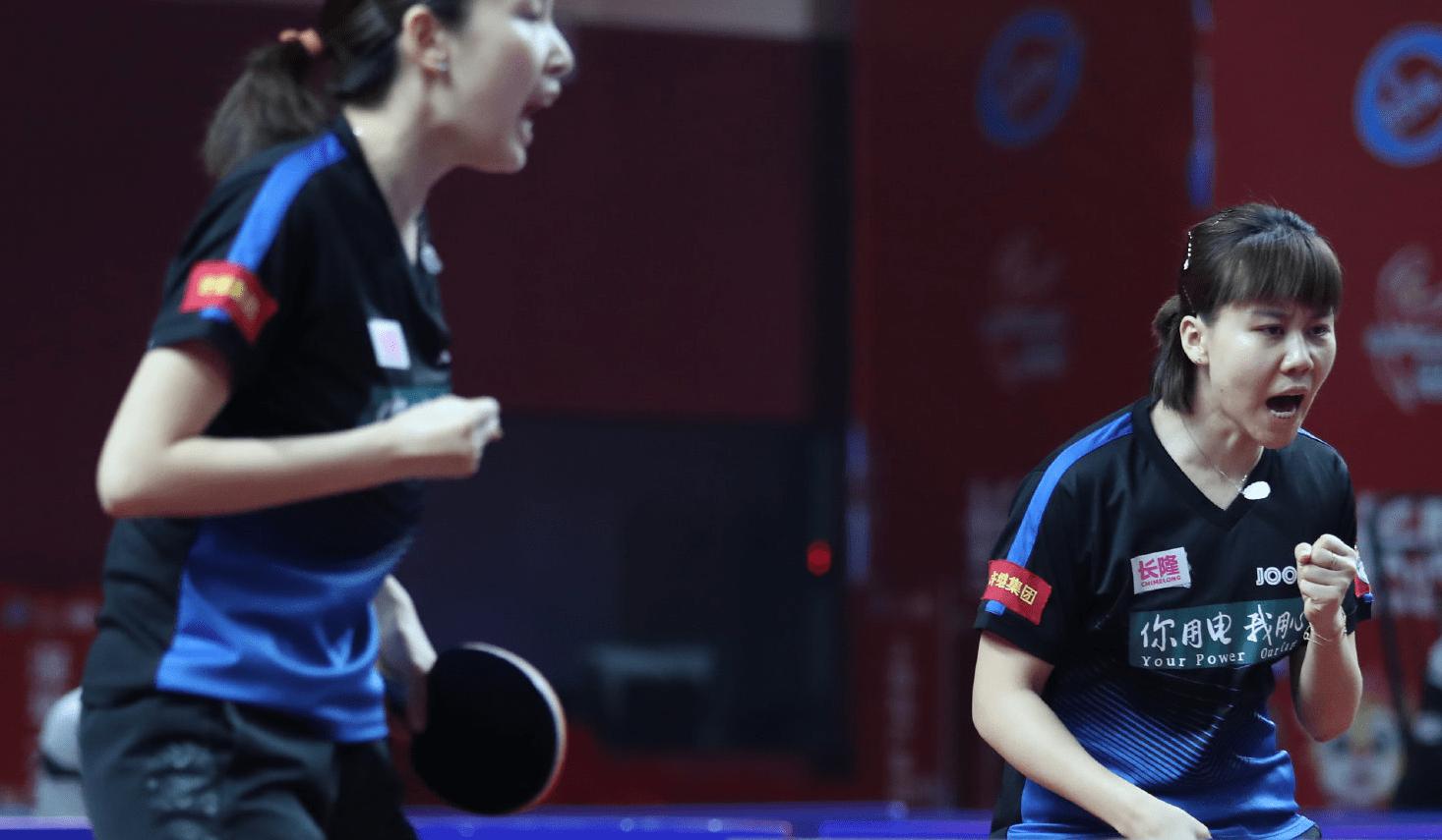 乒乓球超级:三局3-0!山东鲁能横扫对手晋级女子团体决赛269