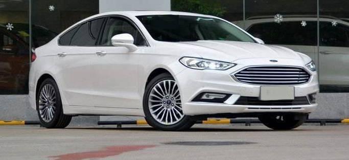 原福特中型轿车轴距2850mm,2.0t,油耗只有7.7l L。