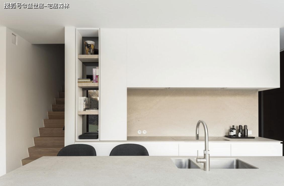 「蓝世居」极简公寓模板,简约不简单(图2)