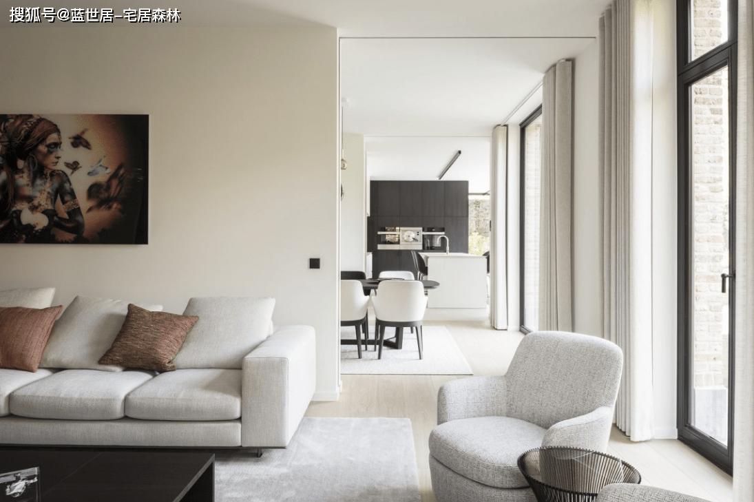 「蓝世居」极简公寓模板,简约不简单(图1)