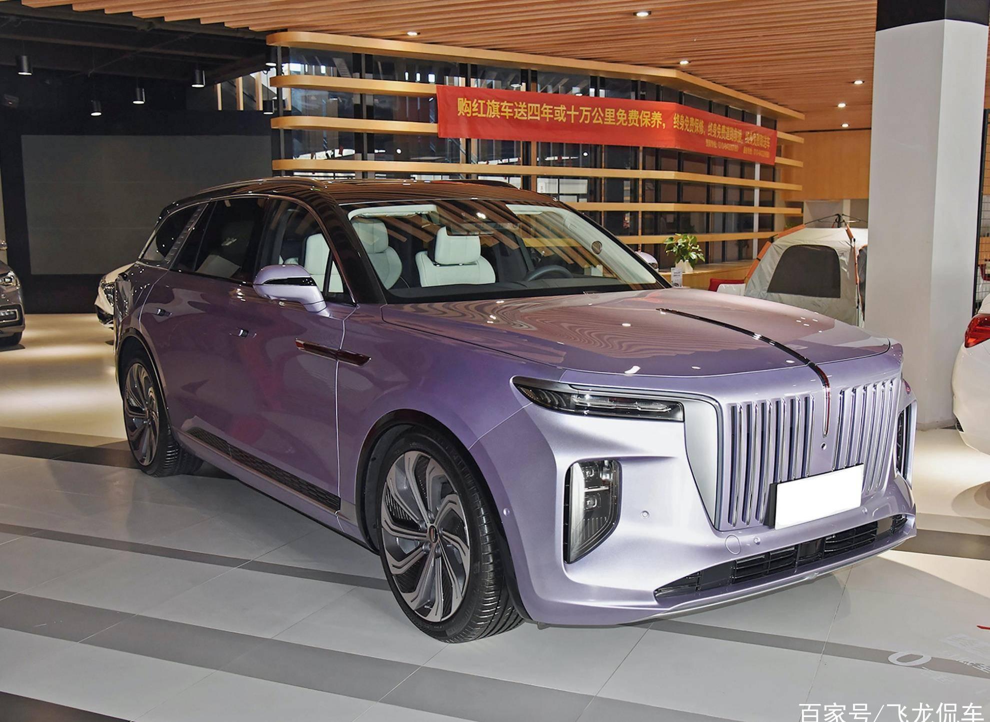 原国产行政SUV长度5.2米,电磁悬挂双隔音,4.8秒可突破100
