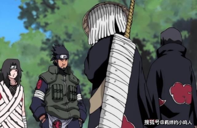 UchihaItachi阻止了幽灵鲨与卡卡西的战斗,从侧面证明了幽灵鲨的力量不足以达到阴影等级zxh