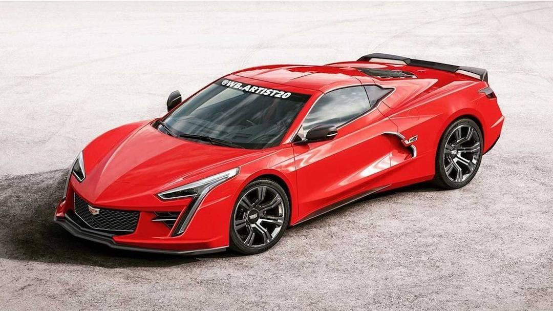 凯迪拉克XLR效果图展示更多赛道风格,帮助你重新点燃你的跑车梦!