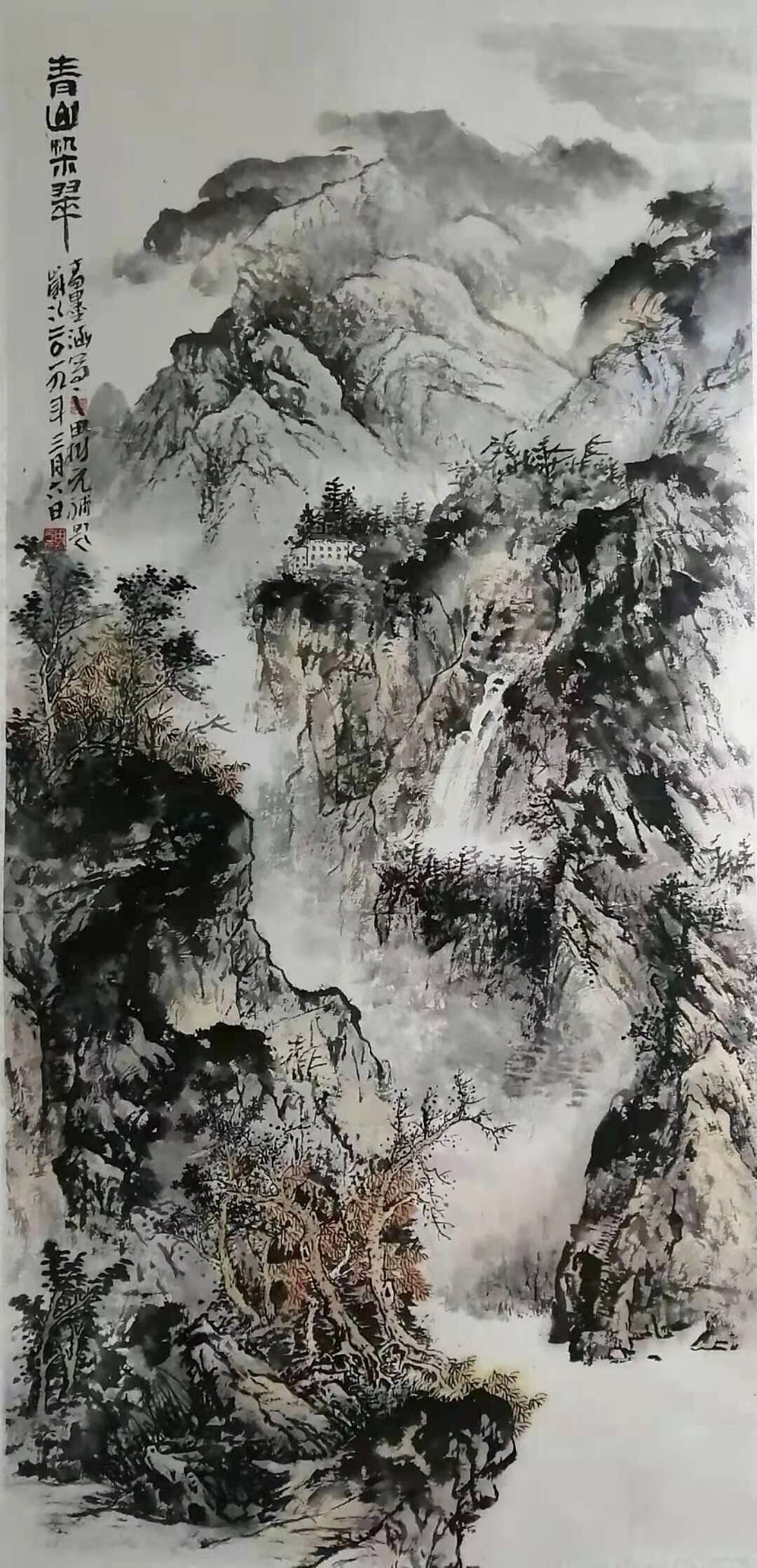 画家高墨涵女士作品欣赏