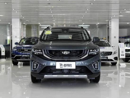 定位偏向国产品牌中型SUV吉利郝跃