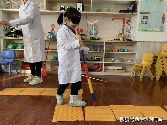 """""""盟动中原—— 爱眼护眼健康行""""公益活动在郑州市实验幼儿园举行"""