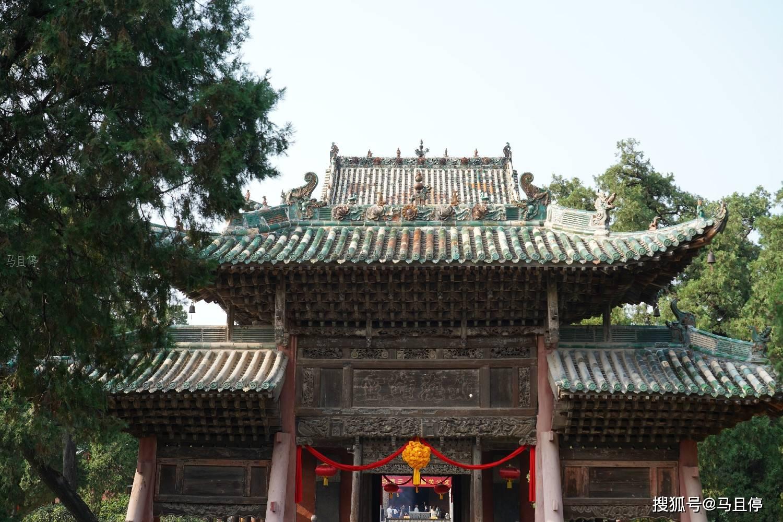 山西必去的寺庙,连康熙乾隆都在这里题过字,春节值得去祈福  第16张