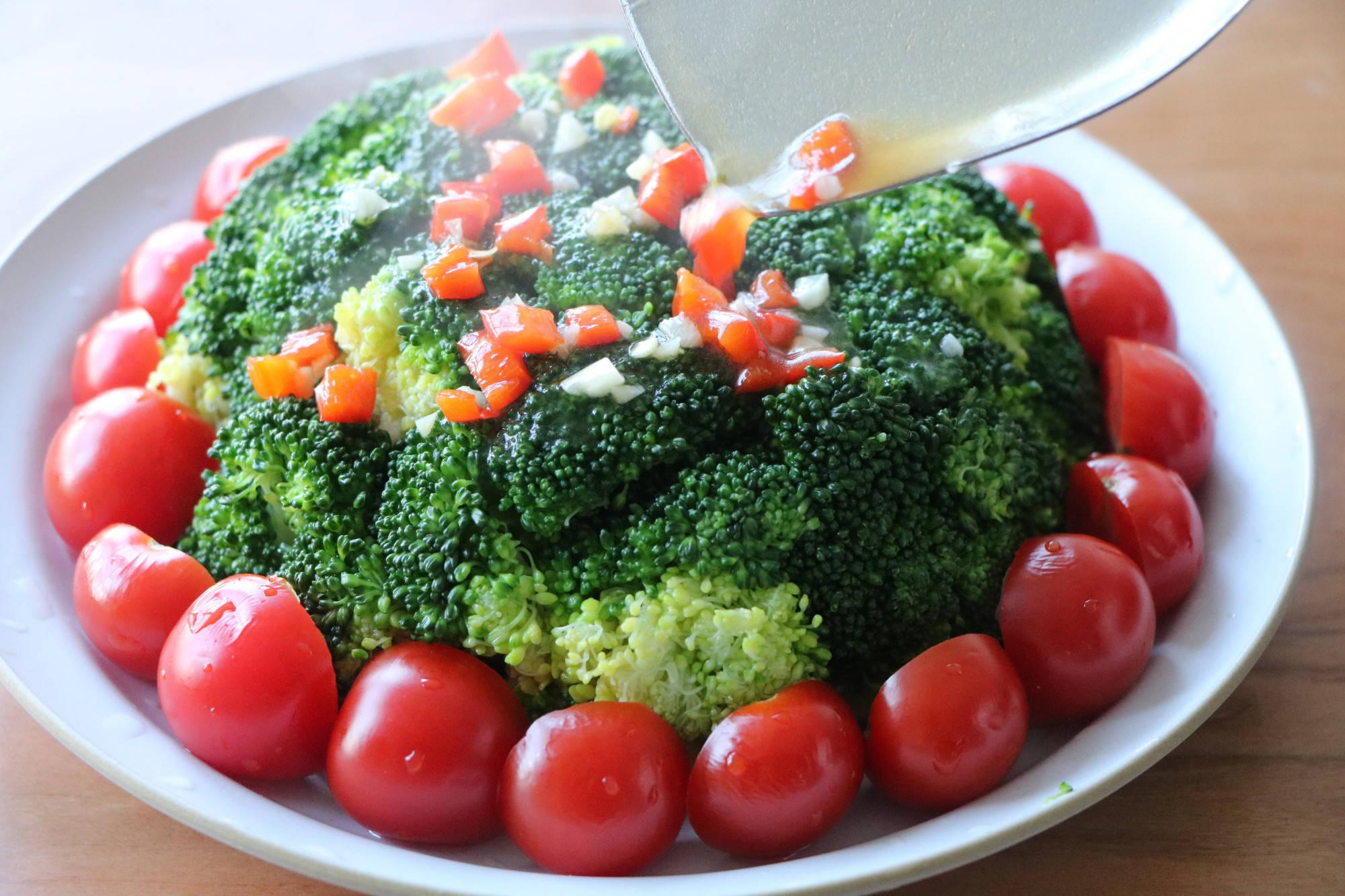 西兰花还可以这样吃,颜值高又喜庆,做法简单,过年家宴就这样做