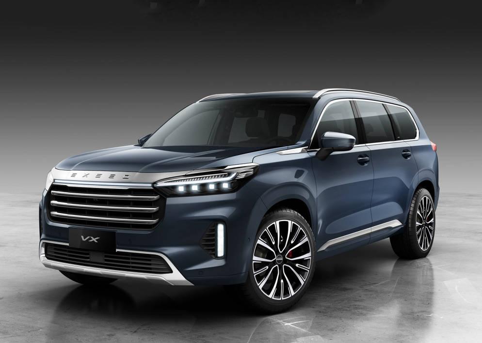 原厂尺寸超过汉兰达,奇瑞大中型7座SUV预售17万次,内饰豪华