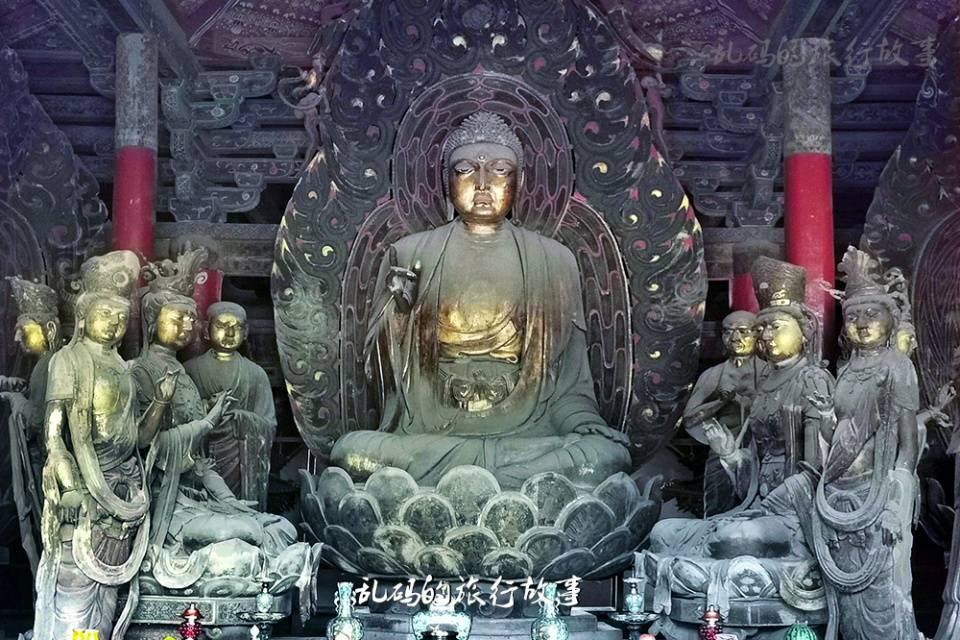 山西这座寺庙 有国内最大纯铜地宫 罕见露齿观音被誉为东方维纳斯  第5张