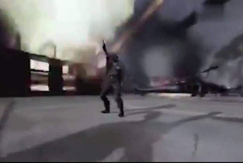 导弹砸向美军基地,四处爆炸一片狼藉,伊朗视频触怒白宫高层