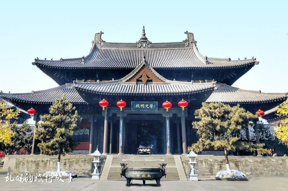 山西这座寺庙 有国内最大纯铜地宫 罕见露齿观音被誉为东方维纳斯  第3张