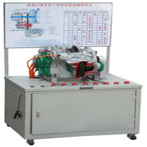 奥迪A6自动手动变速器试验台、汽车底盘训练设备