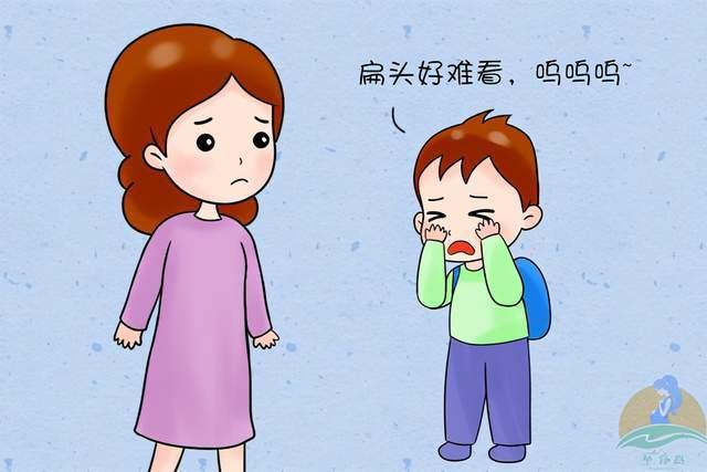 """""""妈妈别再给我睡扁头!""""为啥上一辈坚持给娃睡扁头,真的毁颜值  第2张"""