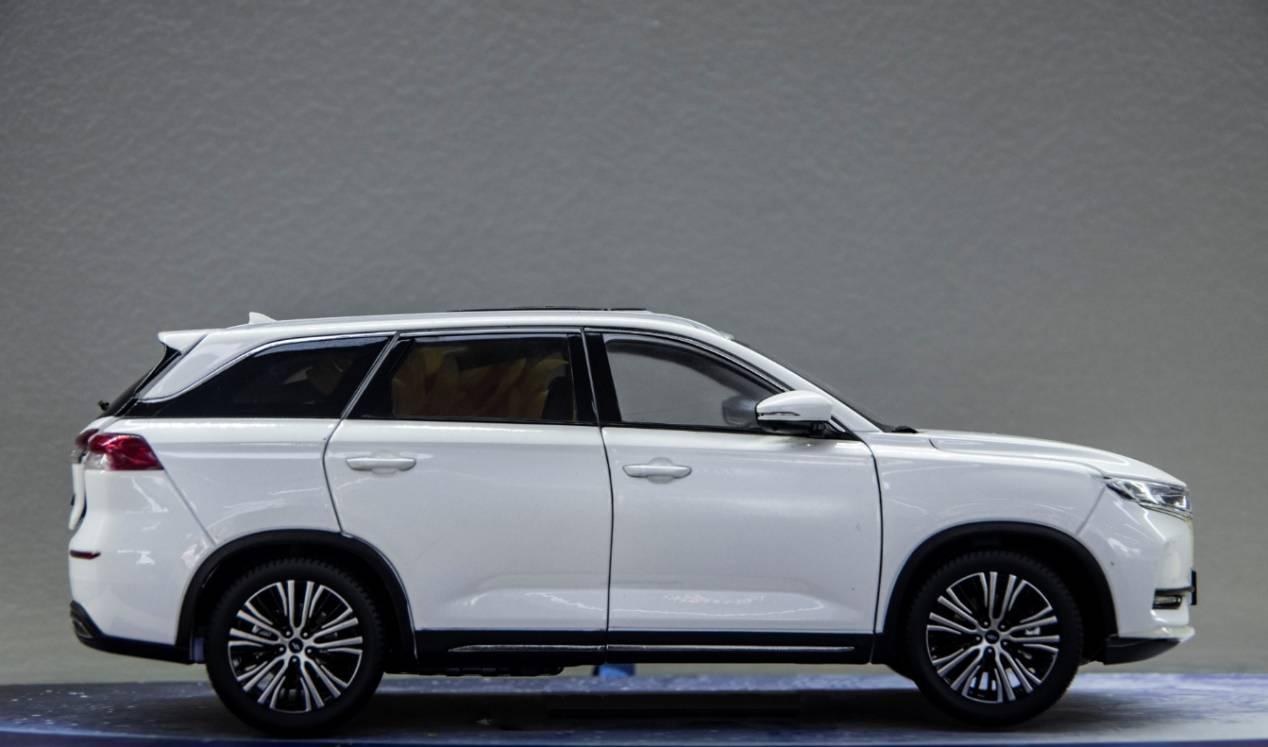 探店长安欧尚X7,配人脸实别+自动泊车,一年销量超过十万台