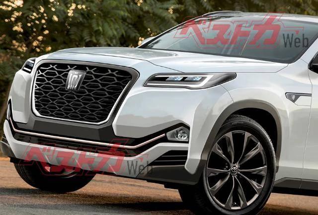 原来的新一代皇冠真的变成SUV了吗?最新猜测图发布,高端版汉兰达?