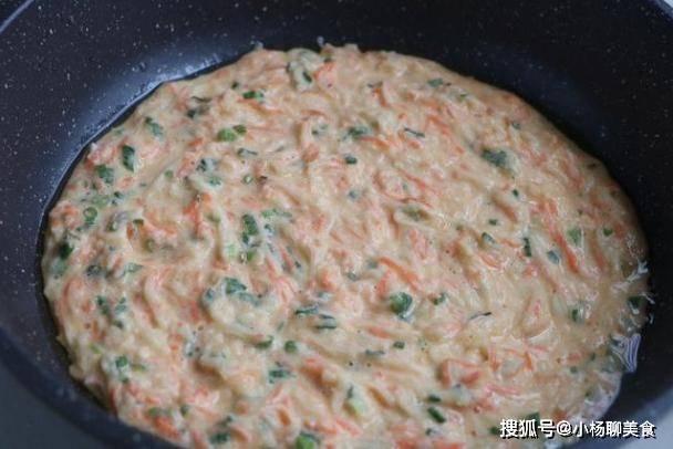 萝卜加鸡蛋,好吃不费时,一个人也能享受早餐时光