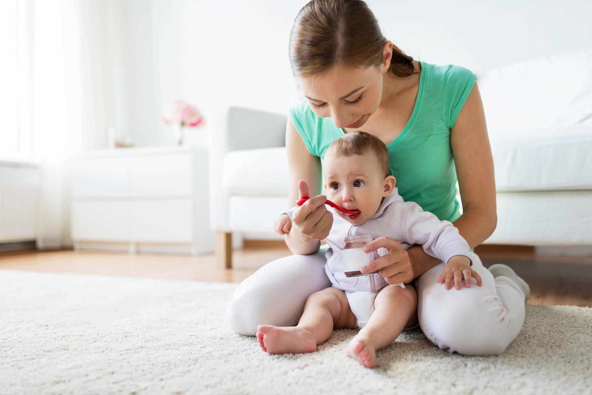 """五个月宝宝开始认生,经历多个""""第一次"""",妈妈用游戏促进娃成长  第5张"""